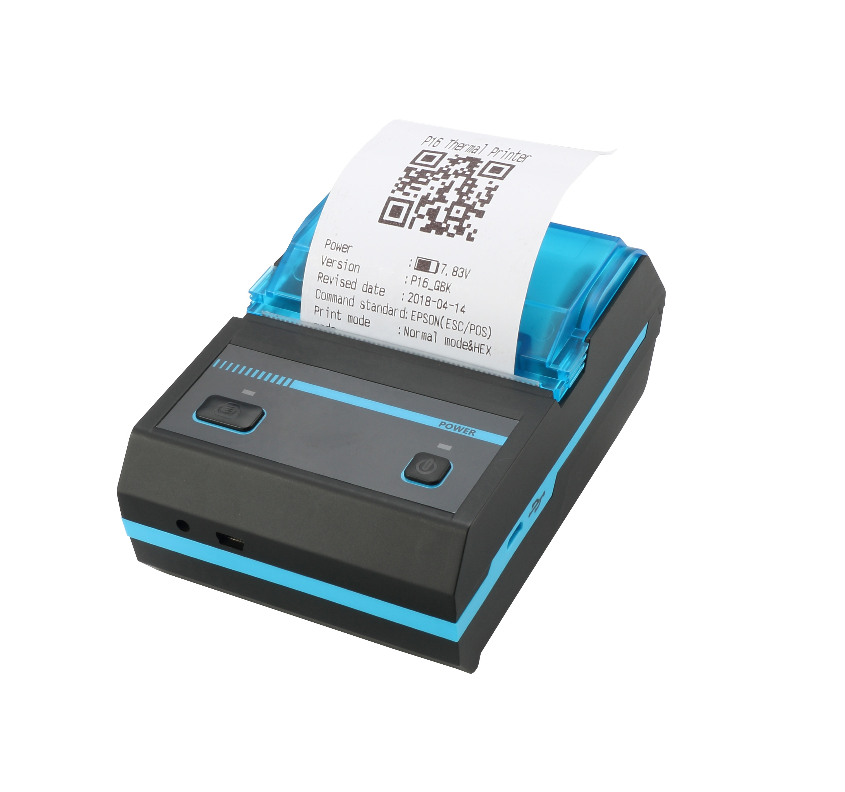 Android IOS Bluetooth Windows USB Mini Printer 58mm Thermal Ticket Bill Receipt Barcode Wireless Portable Thermal Printer