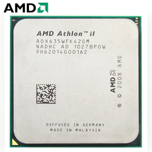 Amd athlon ii x4 635 2.9ghz processador cpu quad-core adx635wfk42gi/adx635wfk42gm soquete am3