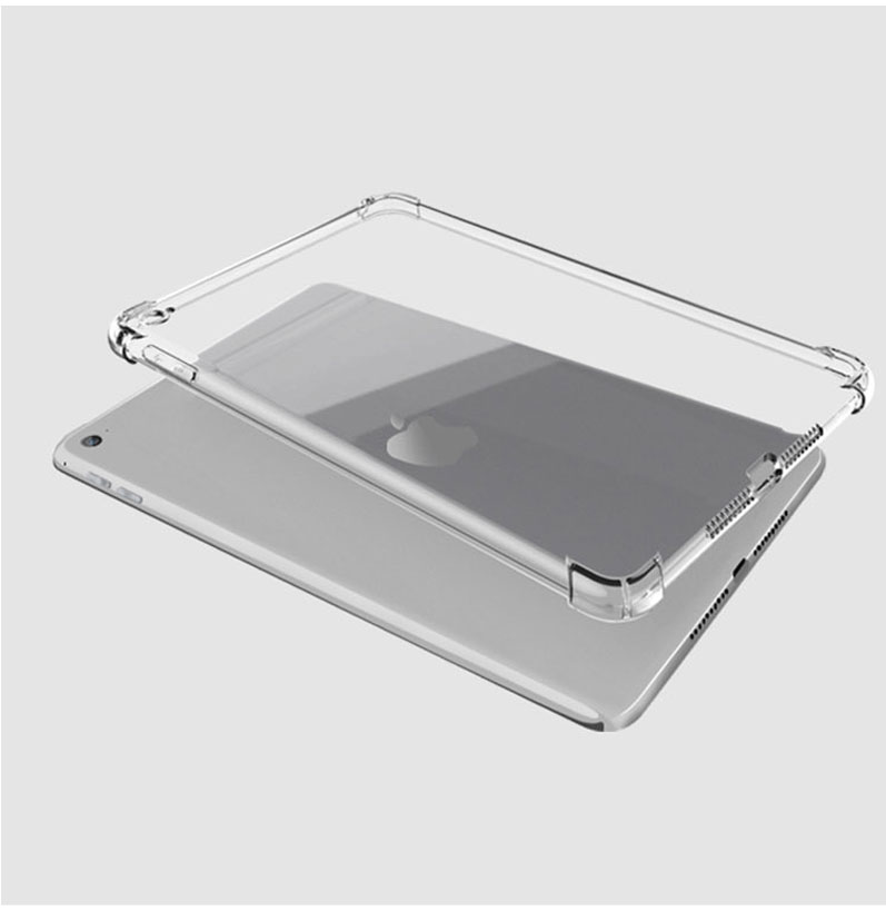 case Clear iPad soft for Apple 10.2 Case tablet silicone for iPad Anti-fall TPU cover