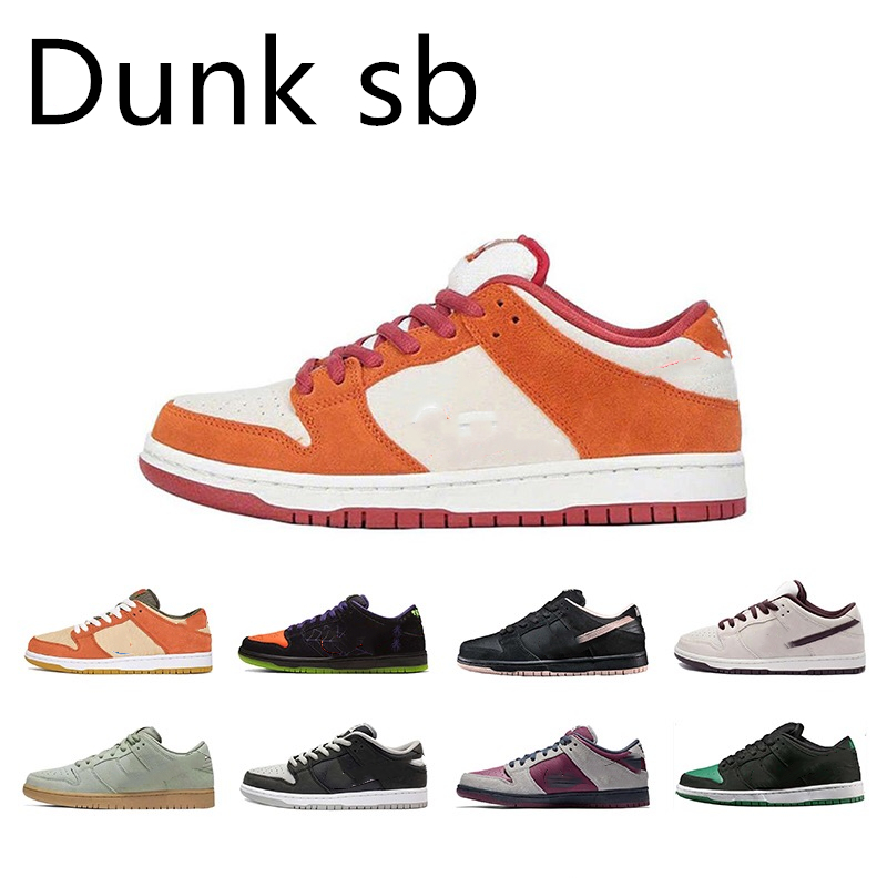2020 Wholesal Designer Lobster Concepts X SB Dunks Low Kyrie Blue Purple Dove Running Shoes Women Mens Trainers Athletic Shoes