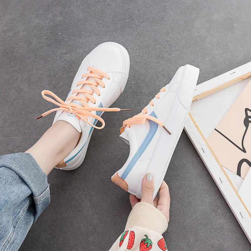 Women Sneakers Pink Green Mixed Colors