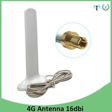 Eoth 3G 4G LTE Antenna TS9 Male Connctor 16dBi 2m 3G external antenna for wireless 4G Modem Router antenne antena arieal недорого