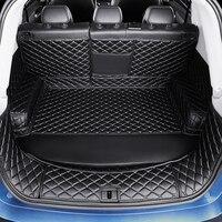 3D Full Covered Waterproof Boot Carpets Durable Custom Car Trunk Mats for Tiguan Touareg CC Passat Golf 4 5 6 7 Phaeton EOS Polo