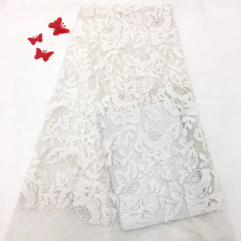 Good Quality Swiss Voile Lace Fabrics, African Lace Fabric For Evening Dresses, White Swiss Voile Lace In Switzerland RF2725