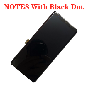Image 1 - מקורי AMOLED עם שחור נקודות תצוגה עבור SAMSUNG Galaxy NOTE8 LCD N950U N950I N950F תצוגת מגע מסך הרכבה