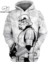 PLstar Cosmos Star Wars Shoretrooper 3d hoodies/shirt/Sweatshirt Winter long sleeve Pullover Fashion Harajuku streetwear