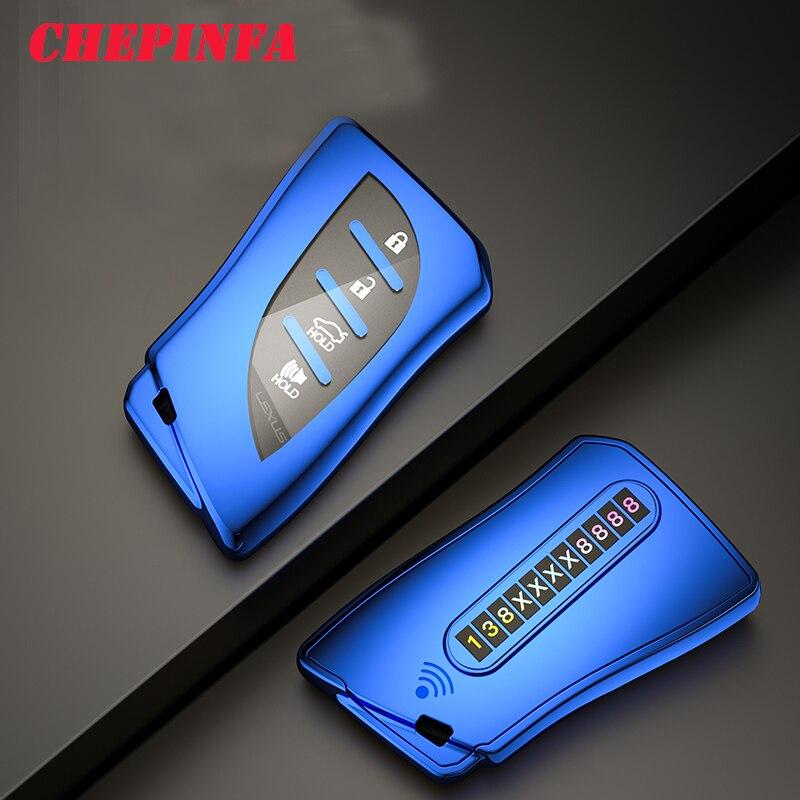 ТПУ чехол для ключей автомобиля полное покрытие защитный lexus