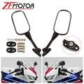 Боковые зеркала заднего вида для мотоцикла HONDA CBR600 RR CBR600RR CBR1000 RR CBR1000RR, запчасти для мотоцикла