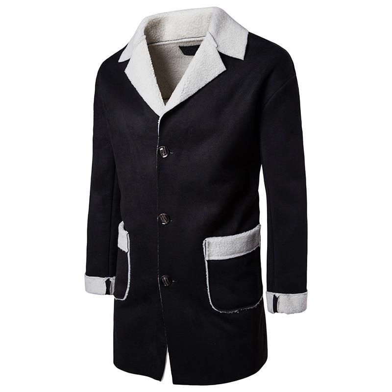 men 2020 long sleeve woolen men coats fashion ladies thick plaid coat female streetwear elegant girls oversize jacket chic