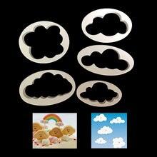 5 шт формочки для тортов iimprinting пластиковые мягкие конфеты