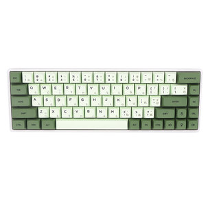 Image 4 - Keypro Matcha Green Ethermal Dye Sublimation fonts PBT keycap For Wired USB mechanical keyboard 124 keycaps