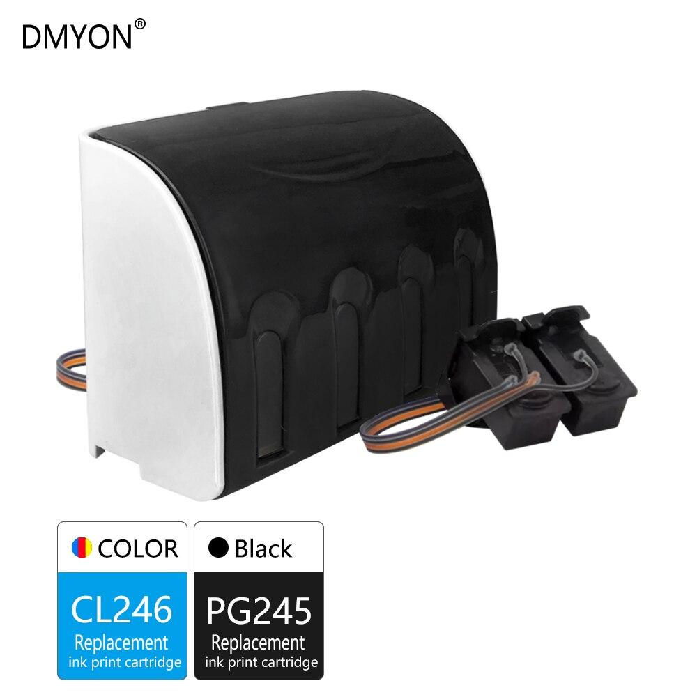 DMYON Kompatibel für Canon PG245 CL246 CISS Groß Tinte für IP2820 MX492 MG2924 MX492 MG2520 MG2924 MG2920 MG2922 MG2400 MG2580