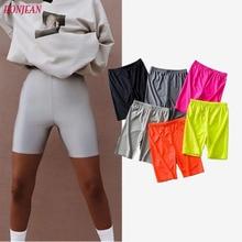 Biker Shorts 2019 Womens Sexy Jogger Cycling Dancing Gym Slim Active Sports Fashionable Casaul Streetwear
