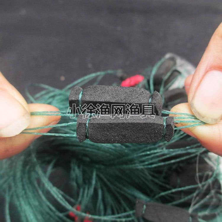 Long-term 7-12 Centimeters Carp Network Nylon Monofilament Three Layer Fishnet Chaohu Lake Carp Network