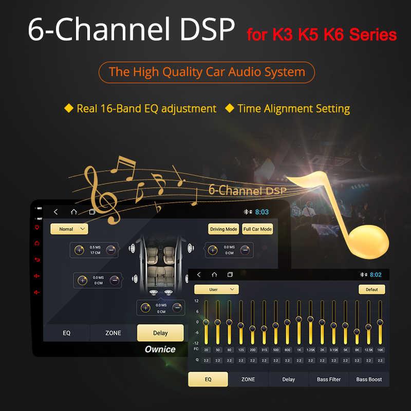Ownice 360 パノラマ 2Din 車ラジオオクタコアの Android 9.0 GPS ナビ K3 K5 K6 三菱アウトランダー 2007 4 4G LTE DSP 光学