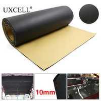 UXCELL 5mm/8mm/10mm di Spessore di Schiuma di Gomma Auto Auto Portellone Isolamento Acustico Deadener Insonorizzate Zerbino pad