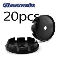 20 piezas-Tapa de cubo de rueda de 61mm, accesorio para ruedas de aluminio WRX MSW tipo 85 Rial Imola 68706 68714