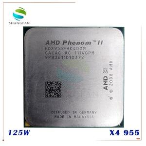 AMD Phenom II X4 955 125W Quad-Core DeskTop CPU HDZ955FBK4DGM HDZ955FBK4DGI HDX955FBK4DGM Socket AM3