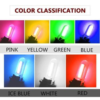 1pc Bright Silica Gel LED Bulbs Silicone Shell Auto Wedge T10 Parking Light Turn Side Lamps Signal Light Car Door Accessories image