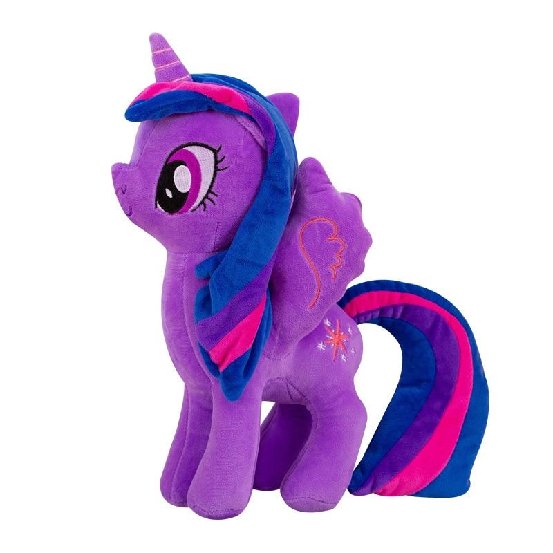 My Little Pony 20cm Toy Stuffed Pony Toy Doll Pinkie Pie Rainbow Dash Movie TV Unicorn