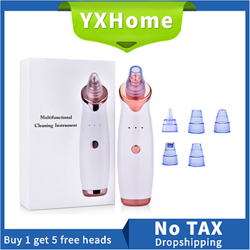Blackhead Remover Skin Care Pore Vacuum Acne Pimple Removal Tool Face Cleaner Acne Comedone Extractor Tools isilandon skin care acne cleaning cream blackhead remove repair comedone pimple acne quickly face acne cream remover anti acne