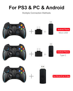 Image 4 - ESM 9013 Wireless Controller ESM9013 For PC Windows For PS3 For TV Box For Android Smartphone Controle Joystick Gamepad