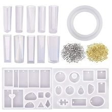 113Pcs Silicone Molds Set Jewelry Tools Kit With Assorted Styles Various Designs Moulds