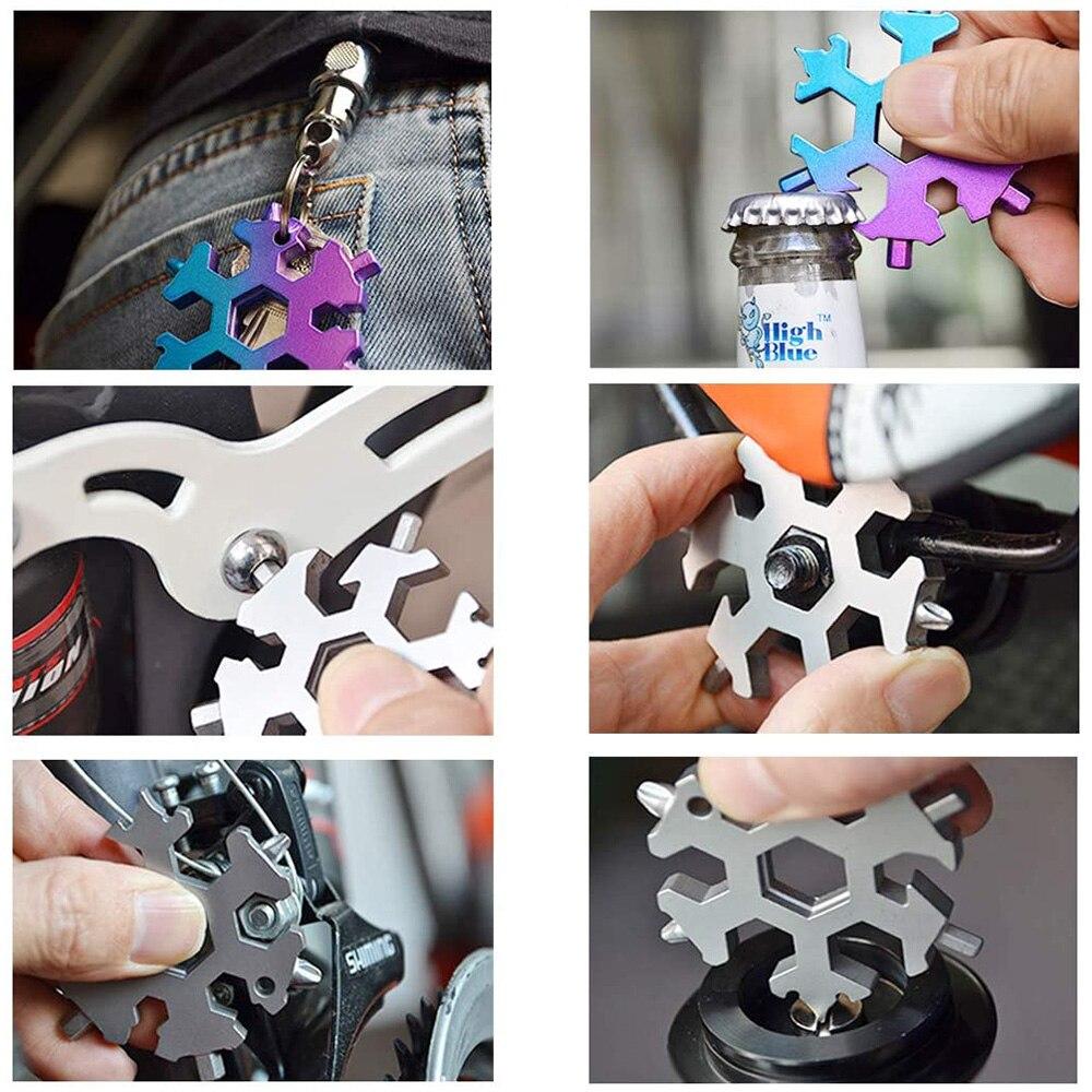 18 in 1 Snowflake Multi tool