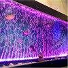 Lampa z efektem bąbelków LED lampa do akwarium wpuszczone podwodne oświetlenie do akwarium zmiana koloru wytwarzanie tlenu do akwarium