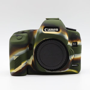Image 5 - Silicone Armor Skin Case Body Cover Protector for Canon EOS 5D Mark II 2 5DII 5D2 Body DSLR Digital Camera ONLY