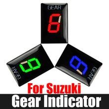 Para Suzuki DL 650 GSXR600 GSXR750 DL 1000 GSX SV650 GSX-R600 GSX650F SV650 SV1000 VZ800 C1800R Display Indicador de Engrenagem Da Motocicleta