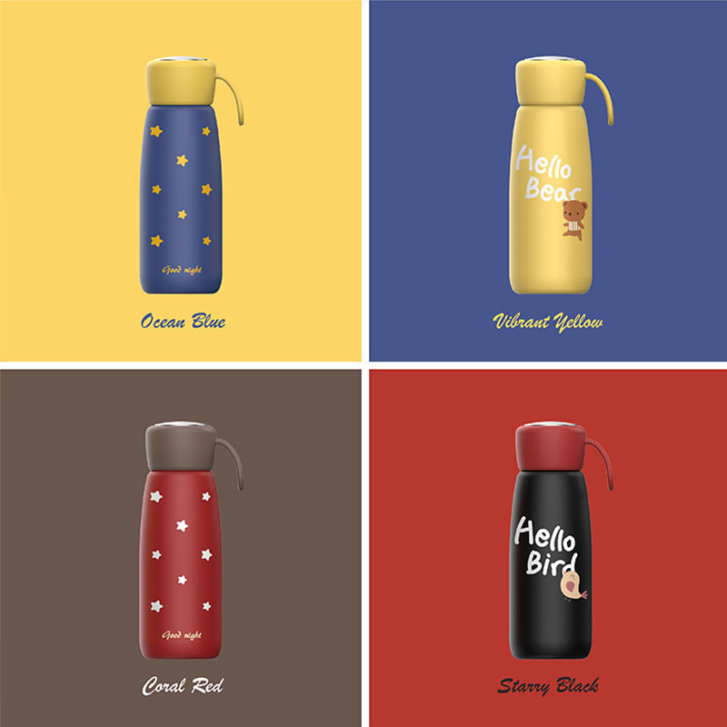 Stainless Steel Vacuum Thermos Coffee Mugs Portable Outdoor Travel Sport Insulated Vacuum Flask Leakproof Tea Water Thermo cups