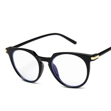 Fashion Women Glasses Frame Men Eye glasses Frames Vintage Cat Clear Lens Blue Light Optical Spectacle