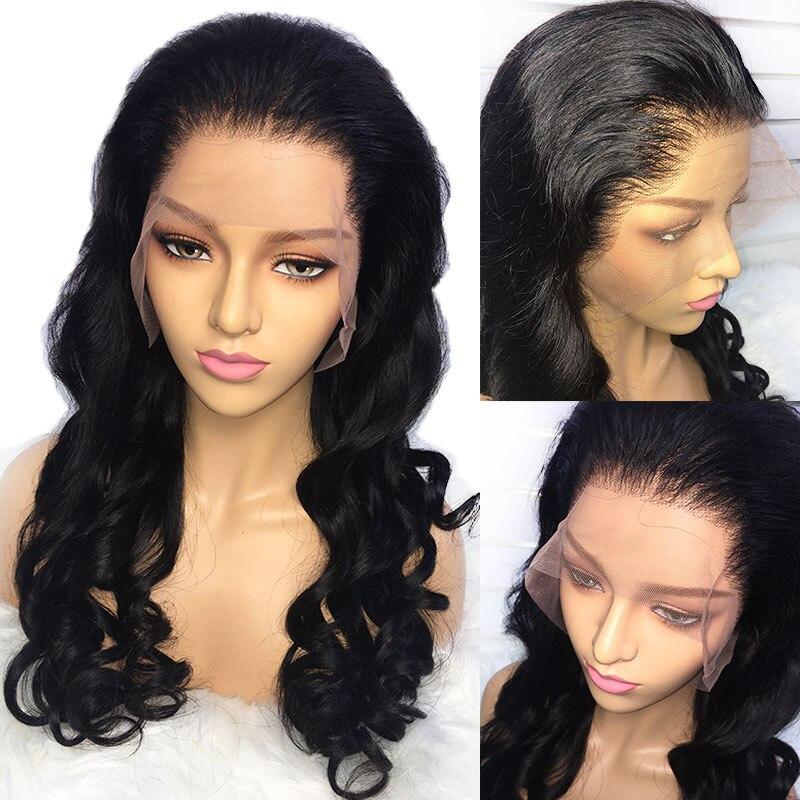 Alibele บราซิลหลวมคลื่นลูกไม้ด้านหน้าด้านหน้ามนุษย์ Wigs สำหรับผู้หญิงสีดำผม Remy วิกผมเด็กความหนาแน่น 150 13x4 นิ้ว-ใน วิกลูกไม้ผมจริง จาก การต่อผมและวิกผม บน AliExpress - 11.11_สิบเอ็ด สิบเอ็ดวันคนโสด 1