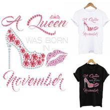 Patchs thermiques à talons roses pour vêtements, bricolage, lavable, transfert de chaleur, amour, fer sur les patchs, T-Shirt pour femmes, décoration à capuche