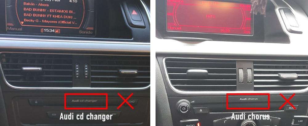Audi chorus cd changer