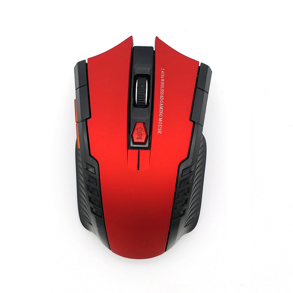 USB Wireless Mouse 2000DPI Adjustable USB 2.0 Receiver Optical Computer Mouse 2.4GHz Ergonomic Mice For Laptop PC