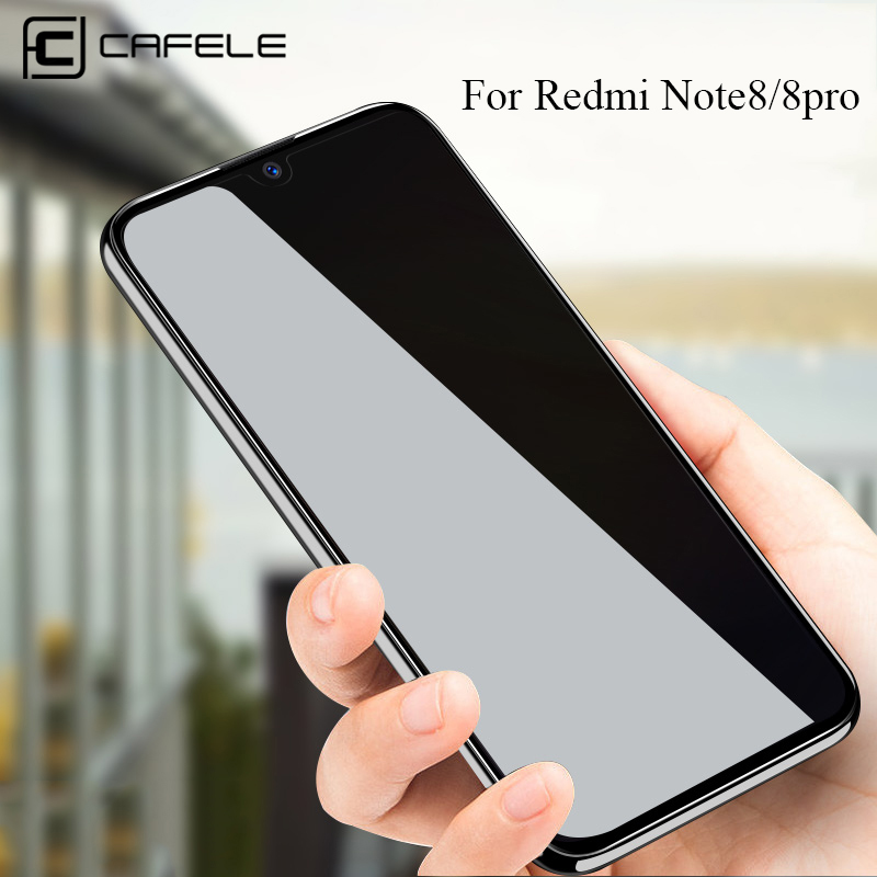 CAFELE Tempered Glass For Xiaomi Redmi Note 7 8 Pro Xiaomi 8 9 SE HD Clear Screen Protector For Redmi Note 8 Pro Protective Film