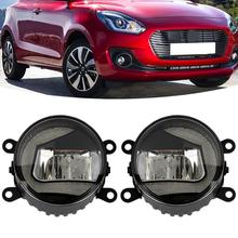 Magic ColorM 2PCS LED Car Auto Daytime Running Light Accessories LED Chip C-shape Waterproof Fog Lamp For Suzuki Swift Head Lamp hot sale led fog lamp daytime running light for sx4 swift alto liana car styling accessories