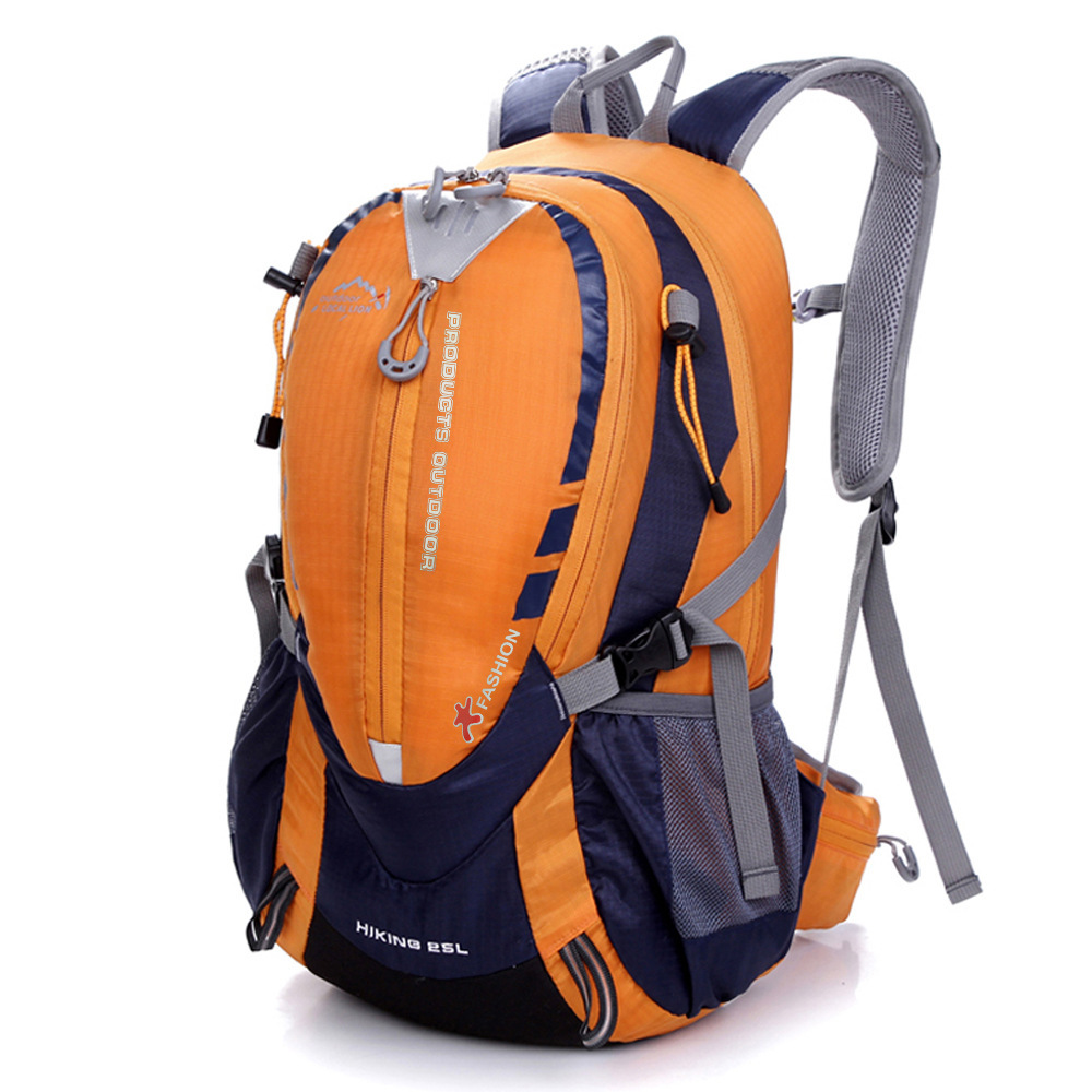 Manufacturer Customized Outdoor Mountaineering Bag 25L Travel Hiking Bag Large Capacity Sports Casual Backpack Rides Luggage