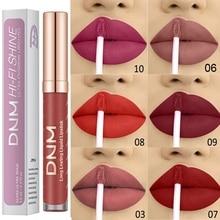 12 Matte Lipstick Waterproof Lip Gloss Pink Lasting Moisturizing Lips Ladies Makeup Professional Cosmetics