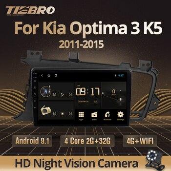 TIEBRO 2din Android 9.0 Car Radio For Kia Optima 3 K5 2011 2012 2013 2015 Multimedia Video Player GPS No DVD