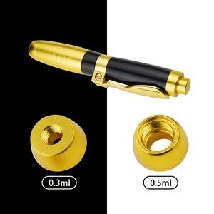 Image 4 - 2 IN1 Atomizzatore Sterile Acido Ialuronico Pen hyaluronique Penna Per Filler dermico lip fillerlip Anti Rughe lifting del viso di iniezione