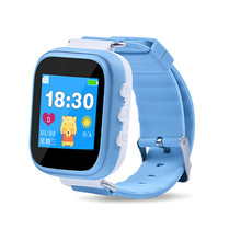 Q80 GPS Child Smart Watch Phone Position Children Watch 1.22 Inch Color Touch Screen SOS LBS Smart Baby Watch PK Q90 Q60 Watch