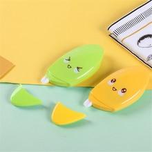 1 Pcs  Kawaii Mango Modelling Correction Tape Creative Simplicity Writing Corrector Tools School Supplies