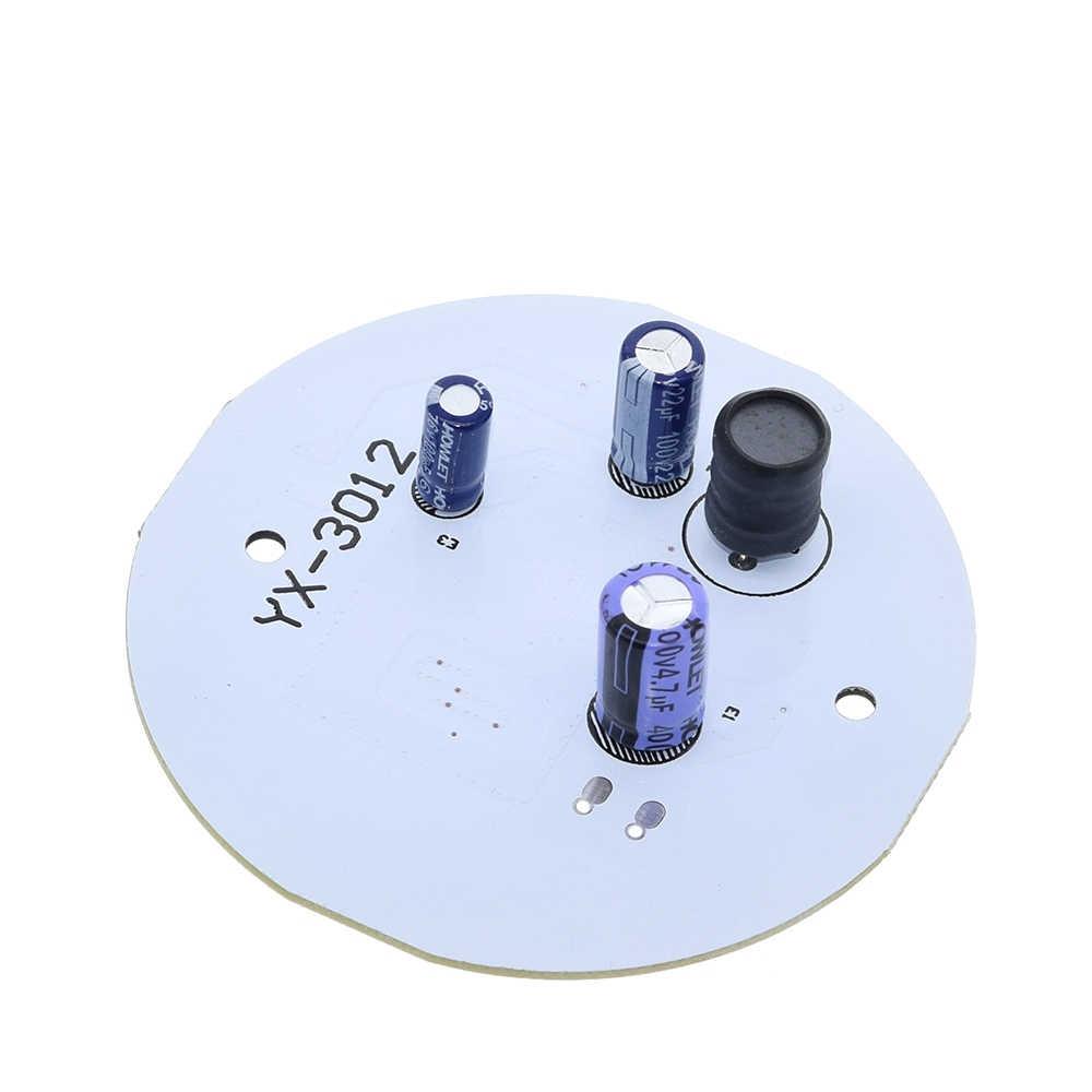 Микроволновая Радарный модуль датчика переменного тока 220 в 12 Вт белый светодиодный светильник интеллектуальное управление для коридора прохода