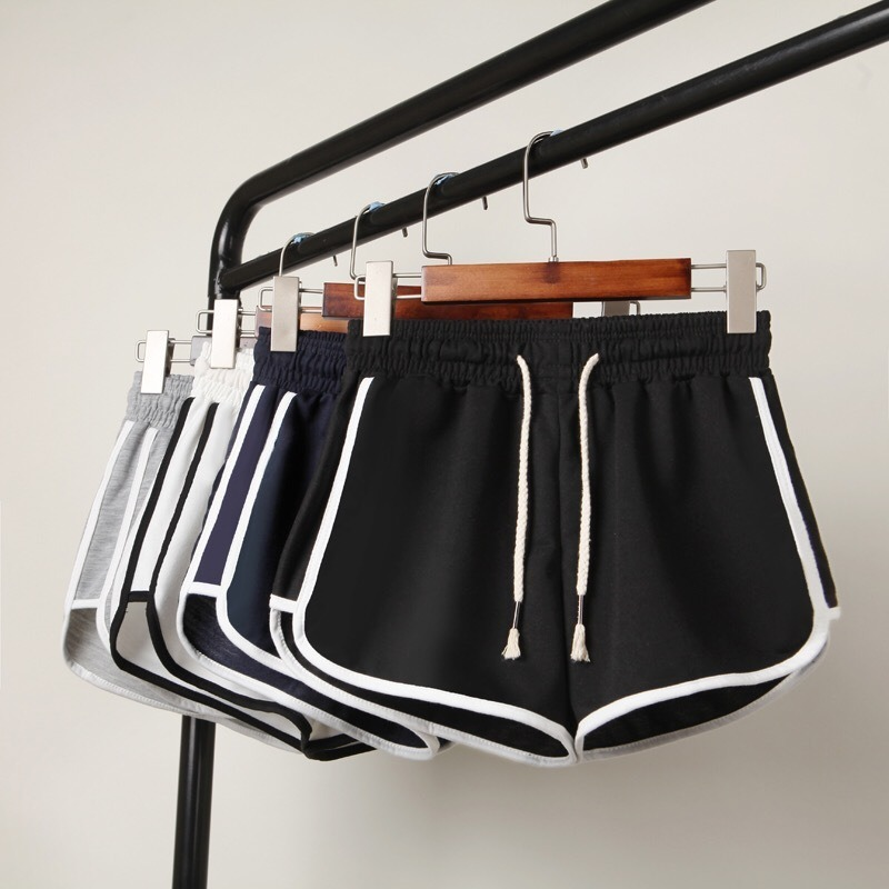 Women Stripe   Shorts   Beach Sport Quick-drying Girl Running Breathable Thin Ice Silk Baseball   Shorts   Athletic Clothes -81