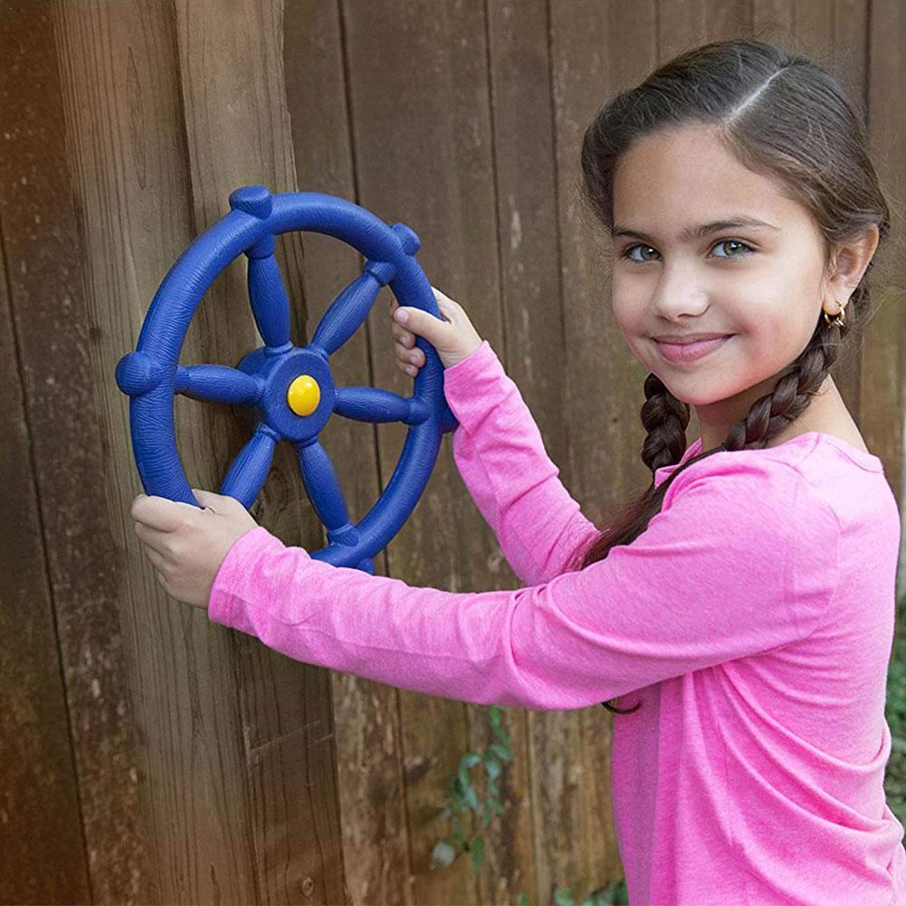 Fidget Toys Children Toy Steering Wheel Kindergarten Playground Accessories Ships Pirate Wheel Park Game Garden Amusement