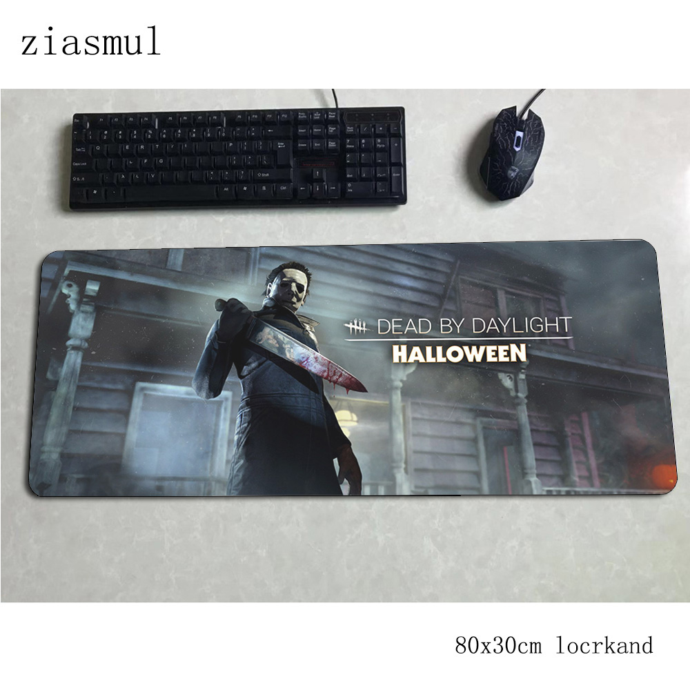 Dead By Daylight Mouse Pad 80x30cm Mats Locrkand Computer Mouse Mat Gaming Accessories Hot Sales Mousepad Keyboard Game Pc Gamer