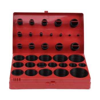 419 szt Gumowy zestaw ringów uszczelka uniwersalna guma o-ring zestaw R01-R32 dobrej jakości tanie i dobre opinie Ashata NONE CN (pochodzenie) RUBBER Pierścień uszczelniający Other Seal Gasket Sealing Grommet O ring Set High Quality and Brand New